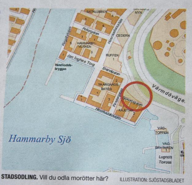 Hammarby sjöstad Henriksdal